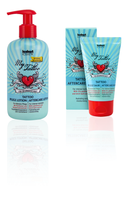 My Tattoo aftercare lotion nurtures and protects